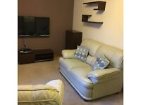 Furnished flat available for entry mid February.