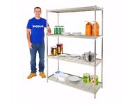 I have stainless steel shelves unites for sale