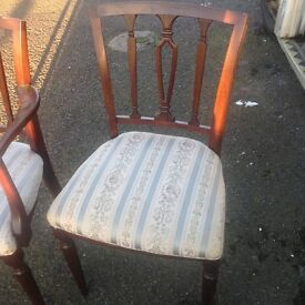 Set 8 chairs including table