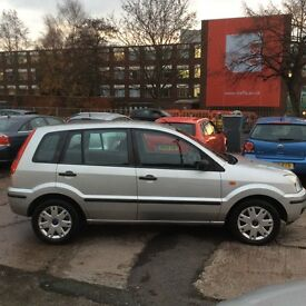 Ford Fusion 1.4 Durashift EST 2004.5MY 2 PETROL AUTOMATIC FULL SERVICE HISTORY