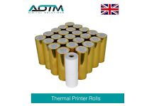 AOTM Professional Thermal Printer Rolls 80mm x 60 Metres For EPOS POS System - Pack of 50