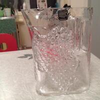 RIEDEL AUSTRIA Tyrol Crystal Water Pitcher 1980 MINT Never Used