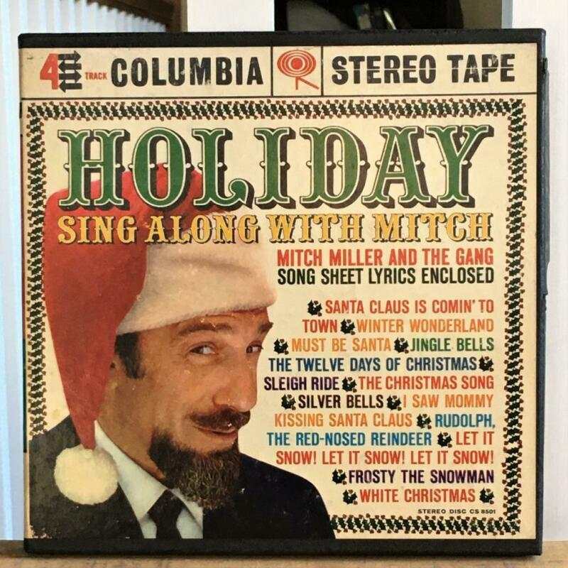 Holiday Sing-Along With Mitch Columbia CQ 419 Stereo Reel to Reel Tested