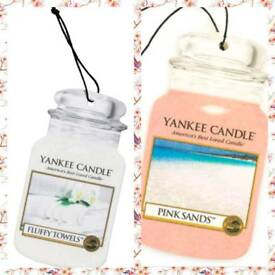 Yankee candle car smellies