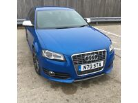 Audi s3 2010 sports back 46k in sprint blue metallic may px bargain to clear must be seen