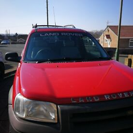 Freelander for sale - ready for the snow