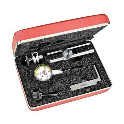 Starrett 708acz Dial Test Indicator With Dove Tail Mount .010 Range .0001 Gr