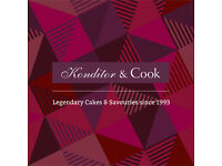 Konditor & Cook * Assistant Manager * London's Cake Shop * circa £20k - £23k salary + benefits *