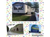 Deluxe caravan for rent kiln park tenby