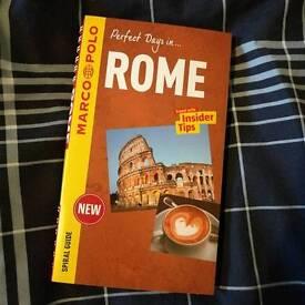 Rome guide book - brand new