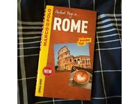 Rome guide book - brand new
