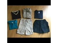 Boys clothes bundle 12-18 months (Next shorts & t-shirt, George, Adams)