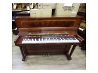 Rogers Sheraton Inlay Upright Piano Mahogany Polyester By Sherwood Phoenix Pianos