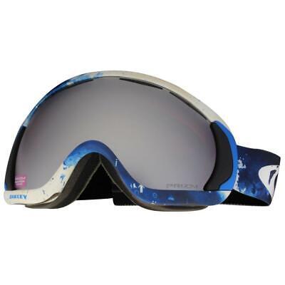 Oakley OO 7047-08 Canopy JP Auclair Whiteout w/ Prizm Black Snow Ski Goggles .