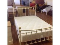 DOUBLE BED WITH ORTHO MATTRESS