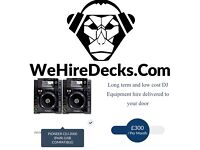 DJ Equipment and disco hire long term and low cost - Pioneer CDJ 2000