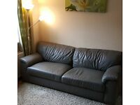 SOFA BED GREY COLOR - BRAND NEXT USED ONLY FOR 1 YEAR 150£
