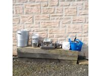 Various pieces of catering equipment, .