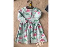 Mothercare baby dress 3-6months BNWT