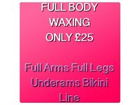 Full Body Waxing £25