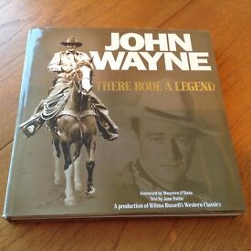 """Book """"There Rode A Legend"""" hard cover"""