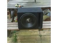 """12"""" Hifonics Subwoofer BASS BOX"""