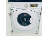Hotpoint Integrated Washing Machine. 1.5 years old. Perfect conditions. **Collection only**