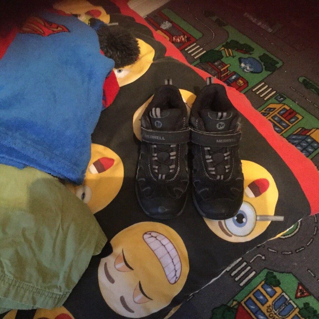 Merrel Boys boots sz1