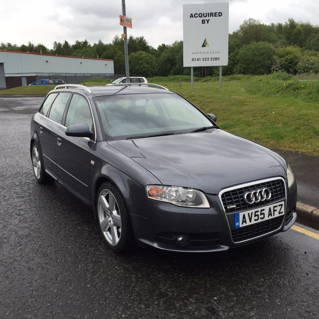2005 audi a4 s line 3 0tdi quattro a grey p x swap bargain for quick sale in rutherglen. Black Bedroom Furniture Sets. Home Design Ideas