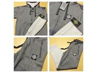 Brand New With Tags Men's S.I Hooded Tracksuit Grey/Charcoal £25