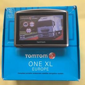 Tom Tom XL Truck, Latest V 1005 Europe Truck Map, Boxed Like New, March 2018 !!!