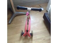 Mini micro scooter in very good condition