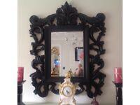 Black or silver mirror