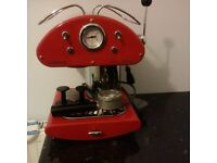Kenwood ES547 Cafe Retro Espresso machine15 bar Red - used