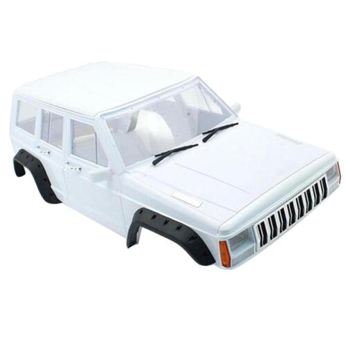 Car Parts - 1/10 RC Rock Crawler Body Shell for Axial SCX10 Car Truck SUVs Parts White