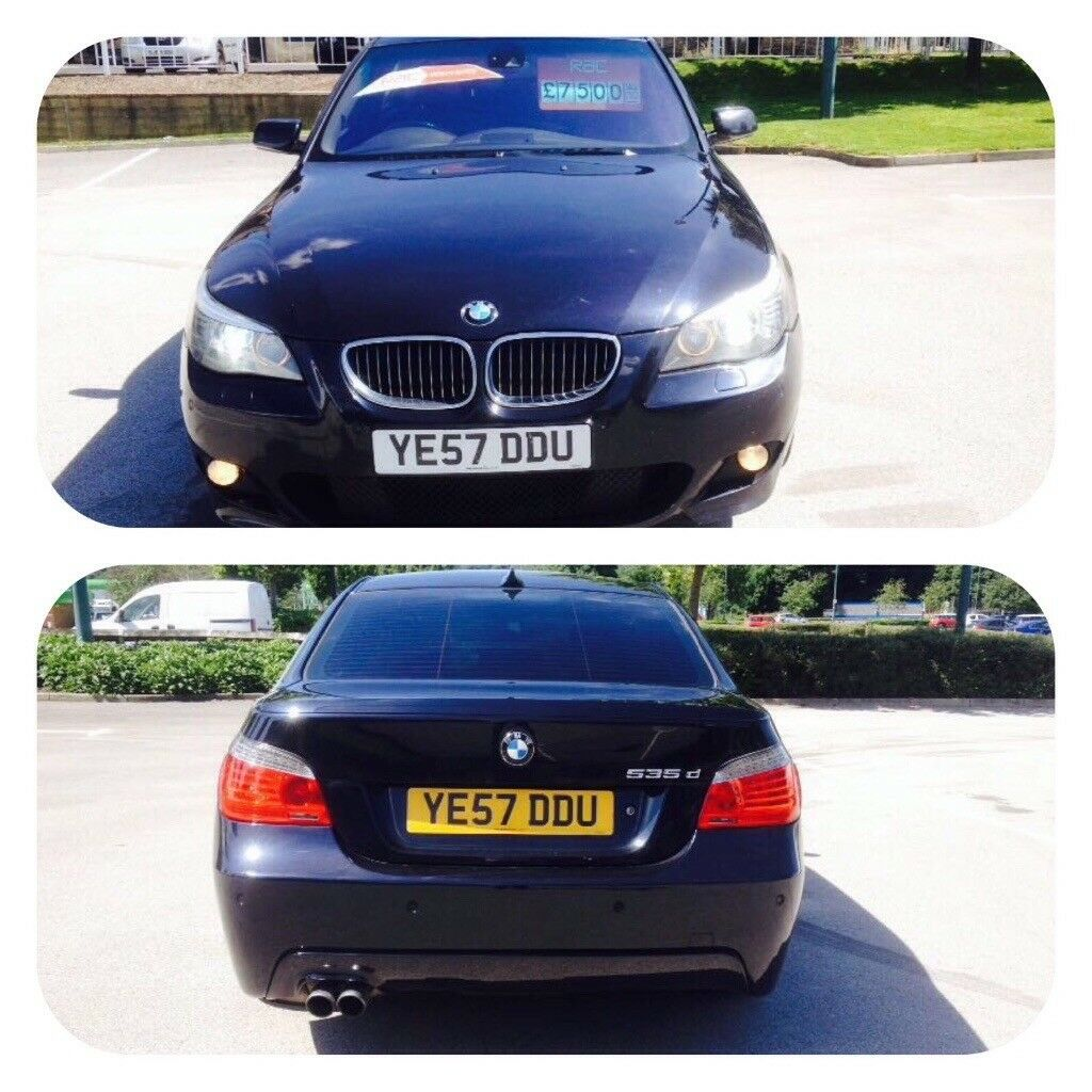 BMW 535d se lci headlights m sport fvsh 19 inch alloys heated full leather seats low mileage offers