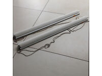 IKEA white roller blinds x 2 - As new conditions with brackets - 50% off retail price