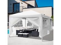 Pop-up Gazebo/ Marquee Tent for Hire from £40 + Heaters & LED Lights, also Tables & Chairs Hire