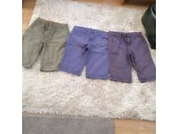 BOYS' CROPS - AGE APPROX 12/13 YEARS (3 PAIRS) - £6