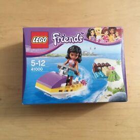 NEW boxed Lego friends jet ski 41000