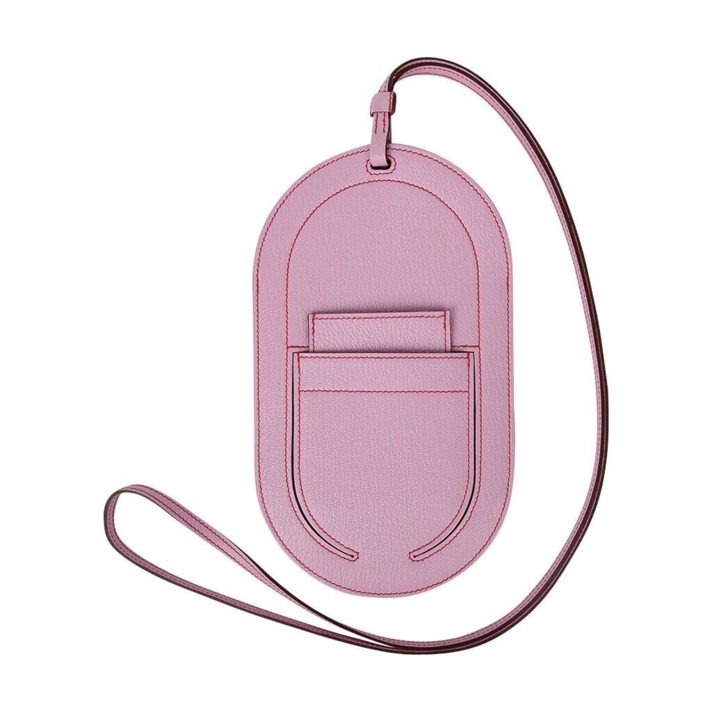 Hermes InTheLoop Phone To Go GM Case Mauve Sylvestre