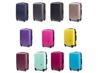Medium Size Suitcase Hand Hold Luggage Cabin Case 360 Wheels Expandable 74l