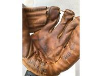Vintage Spalding Baseball Glove