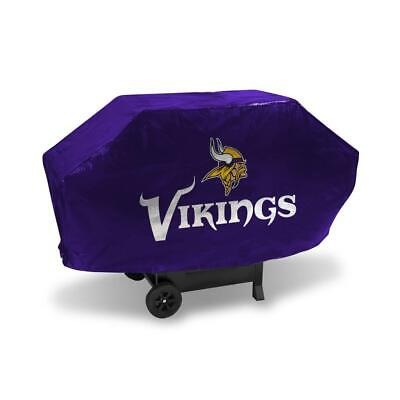 Minnesota Vikings Vinyl Padded Deluxe Grill Cover [NEW] NFL Grilling Barbeque Minnesota Vikings Grill Cover