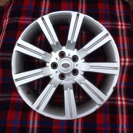 Range Rover Sport Wheels 275/40R20 21.5 x 10.3/4 Used but great as a spare