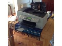 HP Office Jet 6310 printer, photocopier, scanner and fax machine all in one.