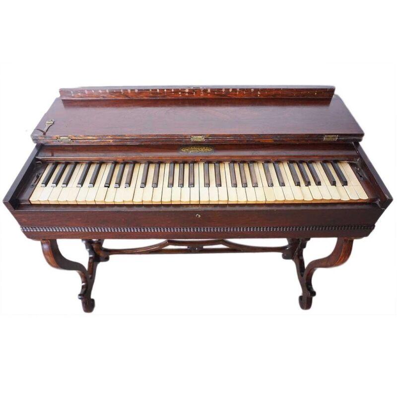 C. 1861 American Victorian George A. Prince & Co. Rosewood Veneer Melodeon Organ