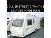 2007 Bailey pageant bordeaux fixedbed + movers light weight caravan