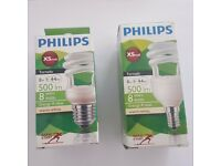 Job Lot Philips Tornado Energy Saving light Bulbs Screw Fitting E14 E27 Philips Tornado