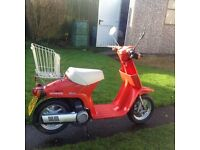 1985 HONDA MELODY 49cc MOPED, BEEN STORED AWAY MOST ITS LIFE!!